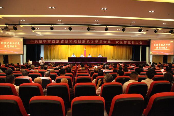 市自然资源和规划局召开 机关党委第一次全体党员大会