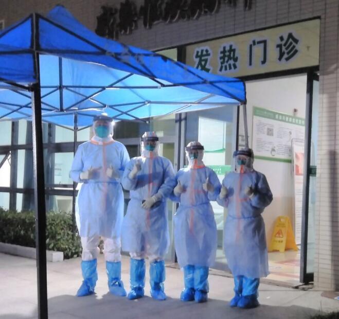 """【咸宁市中心医院】一位党员医生的战""""役""""日记 家人的支持是前行的最大动力"""